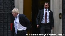 London Downing Street Boris Johnson Jeremy Hunt