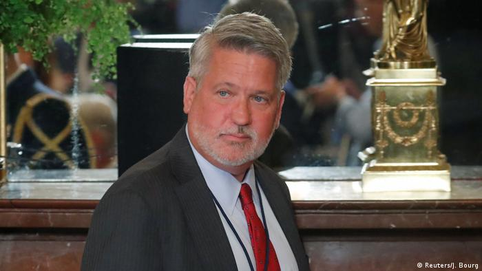 White House communications director Bill Shine (Reuters/J. Bourg)