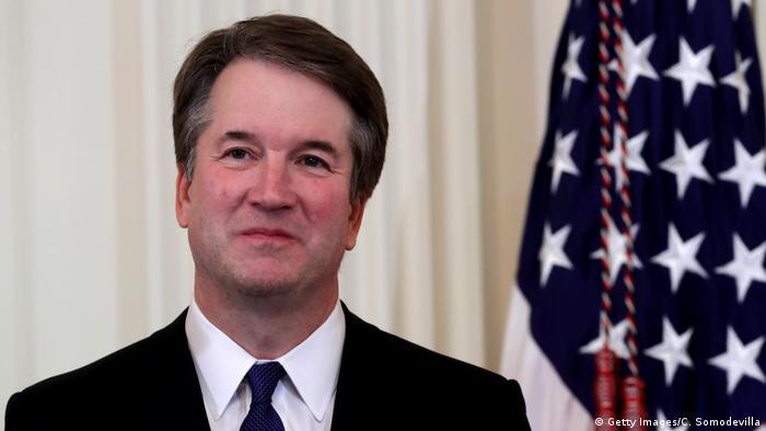 Кандидат на пост судді Верховного суду США Бретт Кавано