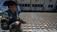 Kolumbien Anti Drogen Polizei Beschlagnahmung Gulf Clan Kokain