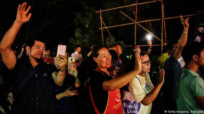 Thailand Rettungsaktion Tham Luang Höhle (Getty Images/L. DeCicca)