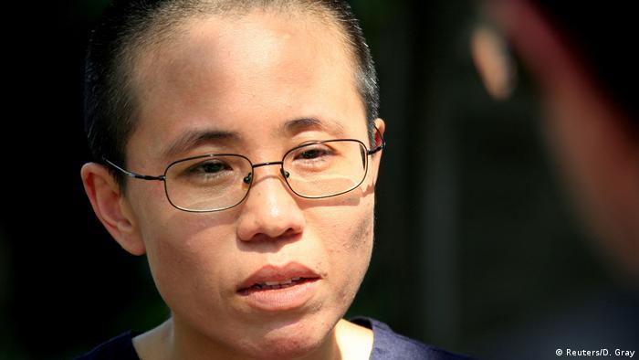 Liu Xia (Reuters/D. Gray)