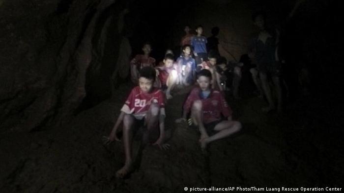 Один из немногих снимков, сделанных в пещере