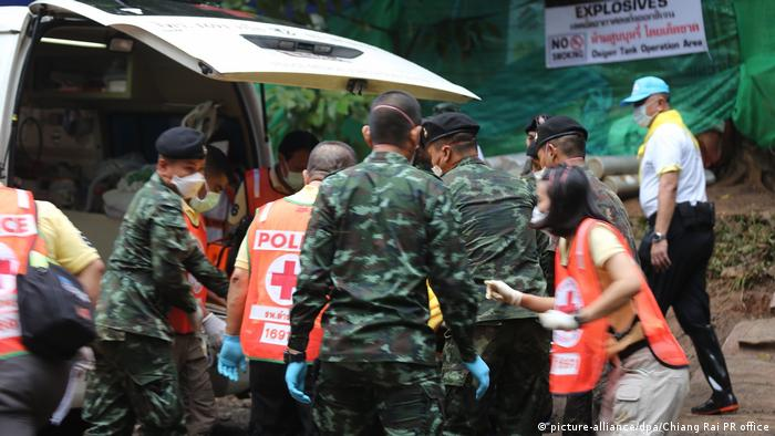 Bildergalerie Thailand Höhlenrettung (picture-alliance/dpa/Chiang Rai PR office)