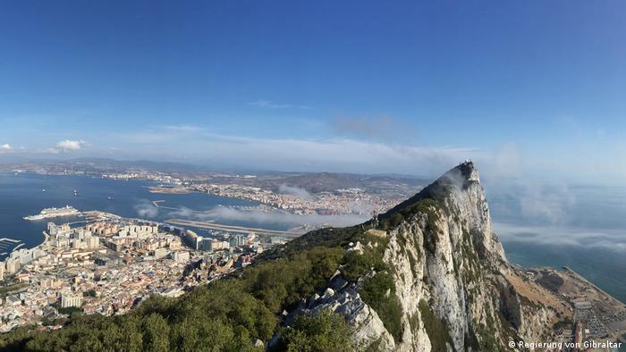 Der Affenfelsen - so etwas wie das Wahrzeichen von Gibraltar