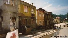 Verwüstete Straßen in Srebrenica Autor: Marinko Sekulic -Korrespondent der DW aus Srebrenica - Bosnien und Herzegowina