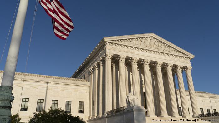 Верховный суд США в Вашингтоне