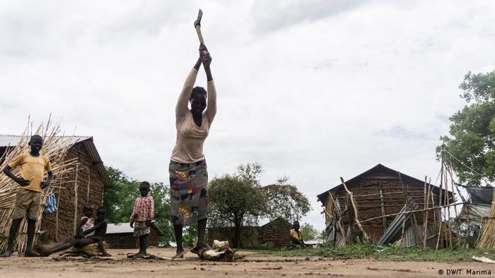 Gorom-Flüchtlingslager im Südsudan (DW/T. Marima)