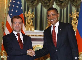 Дмитрий Медведев и Барак Обама (фото из архива)