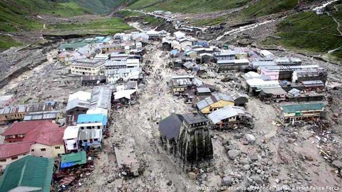 Indien Uttarakhand Naturkatastrophen