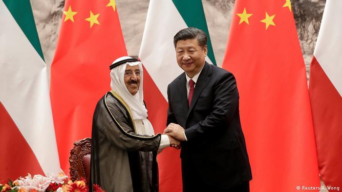 China Peking treffen mit Vertretern arabischer Staaten (Reuters/A. Wong)