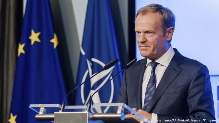 Donald Tusk (picture-alliance/AP Photo/G. Vanden Wijngaert)