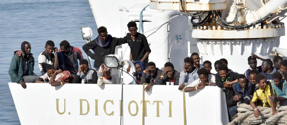 Μετανάστες και πάλι αντικείμενο πολιτικής διαμάχης
