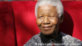 Nelson Mandela 2005 in Johannesburg.