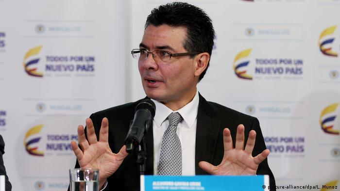 Alejandro Gaviria, ministro de Salud de Colombia