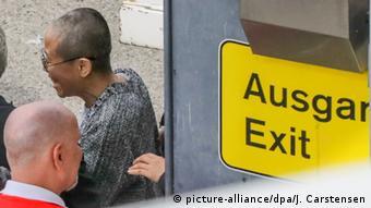 Deutschland Berlin Ankunft Liu Xia, Witwe des chinesischen Dissidenten Liu Xiaobo