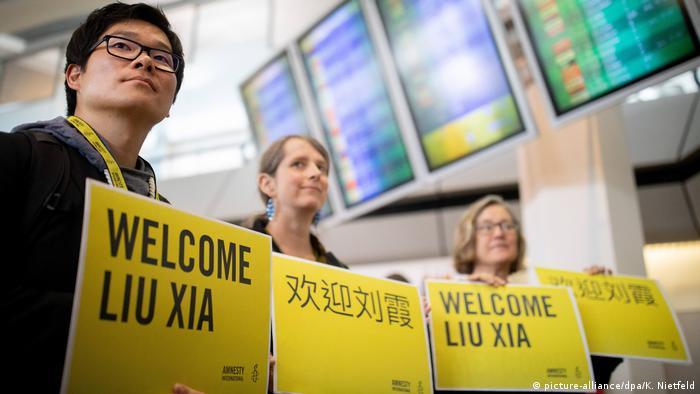 Deutschland Berlin Ankunft Liu Xia, Witwe des chinesischen Dissidenten Liu Xiaobo | Amnesty International
