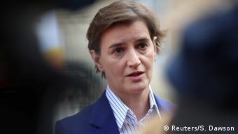 Großbritannien EU-Westbalkangipfel in London | Ana Brnabic, Premierministerin Serbien (Reuters/S. Dawson)