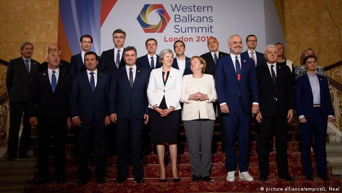 Großbritannien EU-Westbalkangipfel in London