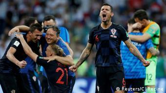 FIFA Fußball-WM 2018 in Russland | Dejan Lovren, Kroatien