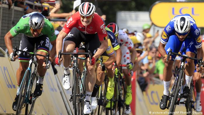 Tour de France 2018 | 4. Etappe (picture-alliance/AP Photo/P. Dejong)