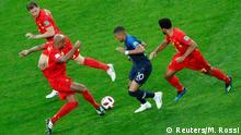 FIFA Fußball-WM 2018 in Russland | Halbfinale -Frankreich vs Belgien