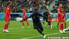 FIFA Fußball-WM 2018 in Russland | Halbfinale -Frankreich vs Belgien | Jubel (1:0)
