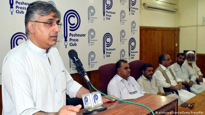 Pakistan Haroon Bilour, Awami Partei (picture-alliance/Zuma Press/Ppi)