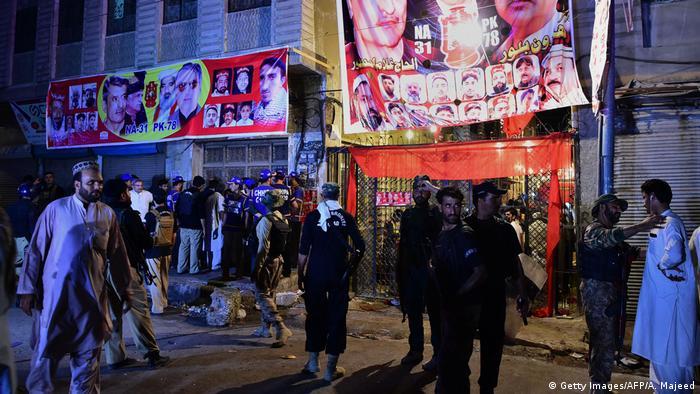 Mitinge intihar saldırısı: En az 13 ölü