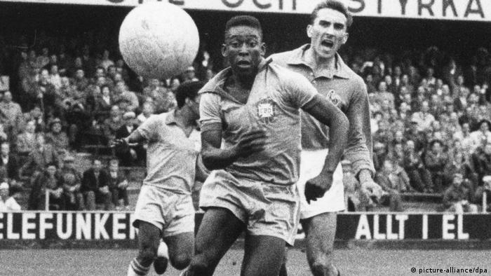 Fußball-WM 1958 Pele (picture-alliance/dpa)