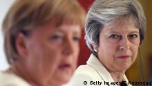 Grobritannien London Pressekonferenz von Theresa May und Angela Merkel