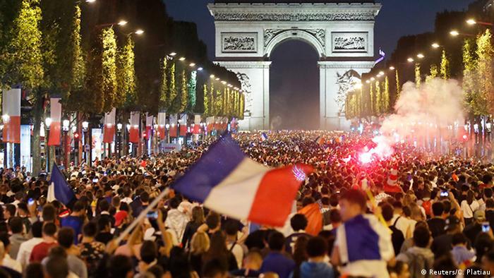 Frankreich im Freudentaumel