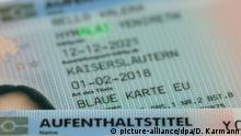 Europa Visa - Blaue Karte für ausländische Fachkräfte