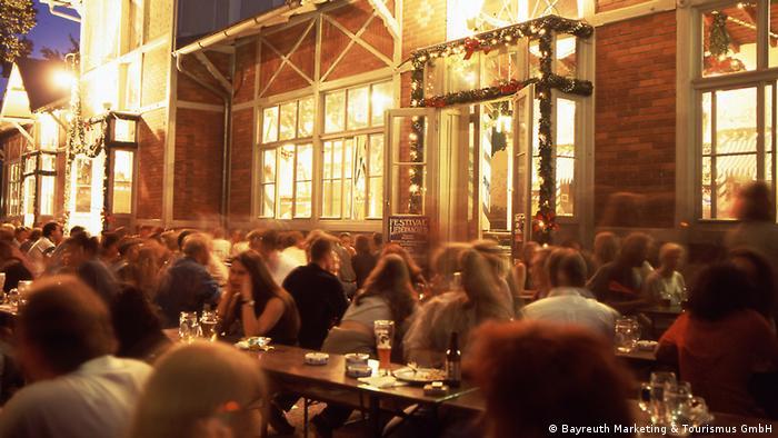 Bayern Bayreuth - Sehenswürdigkeiten - Biergarten (Bayreuth Marketing & Tourismus GmbH)