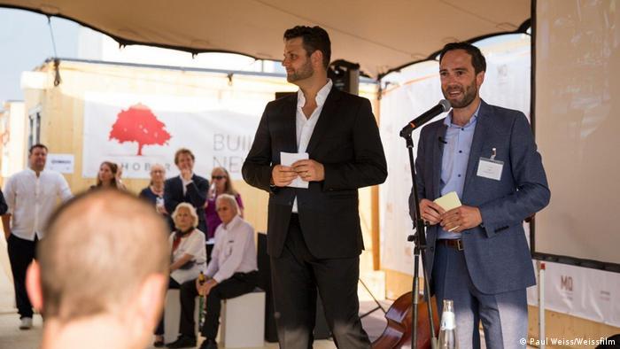 Björn Hiss i Nikolai Jäger na prezentaciji