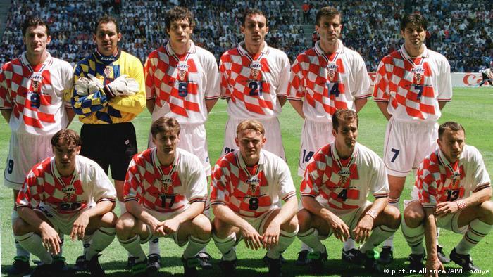 Momčad Hrvatske 1998.