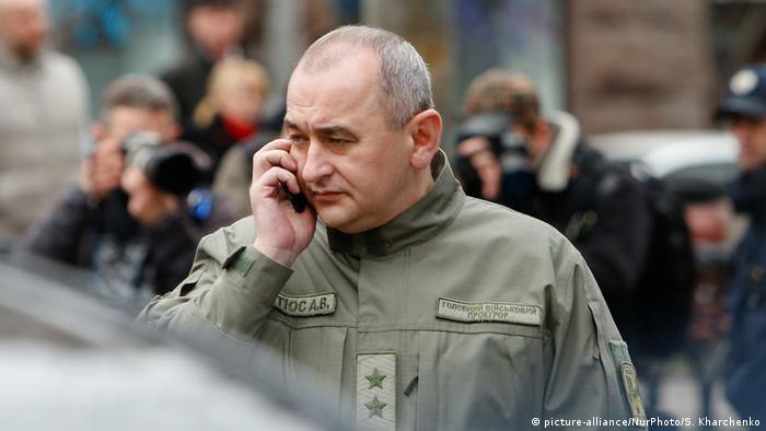 Очільник Головної військової прокуратури Анатолій Матіос