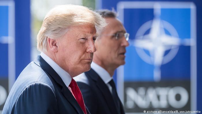 Belgien Nato-Gipfel (picture-alliance/dpa/B. von Jutrczenka)