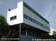 Prédio de Le Corbusier na Weissenhofsiedlung, em Stuttgart