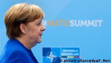 Brüssel Nato-Gipfel - Merkel
