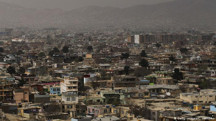 Afghanistan Stadtansicht Kabul (Getty Images/C. Hondros)