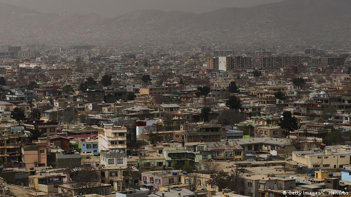 Afghanistan Stadtansicht Kabul