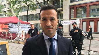NSU tarafından öldürülen Theodoros Boulgarides'in ailesinin avukatı Yavuz Selim Narin