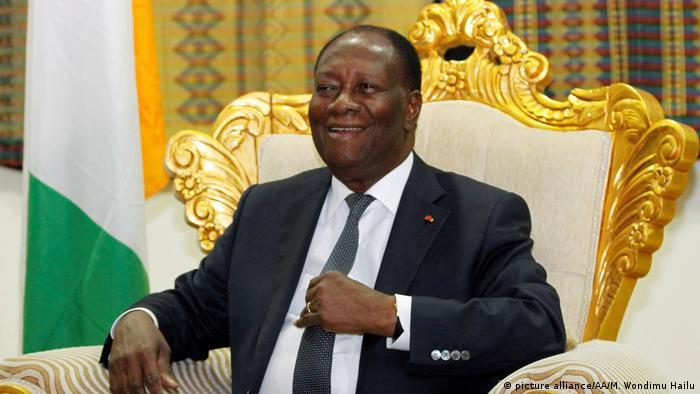Elfenbeinküste - Präsident Ouattara