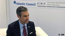 DW Interview mit Damon Wilson - dem Vice President of the Atlantic Council