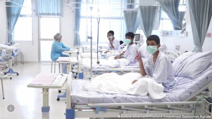 Thailand Rettungsaktion Tham Luang Höhle (picture-alliance/AP/Thailand Government Spokesman Bureau)