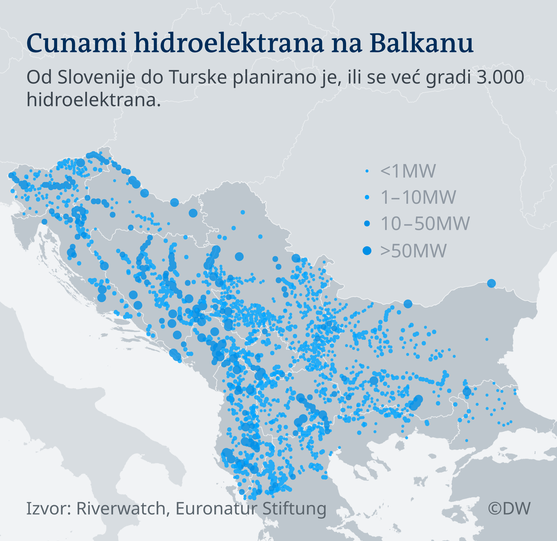Infografik Hydropower Tsunami in the Balkans BS