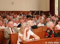 Darwin sigue despertando interés en un amplio público. Auditorio del Museo Alexander Koenig, de Bonn.