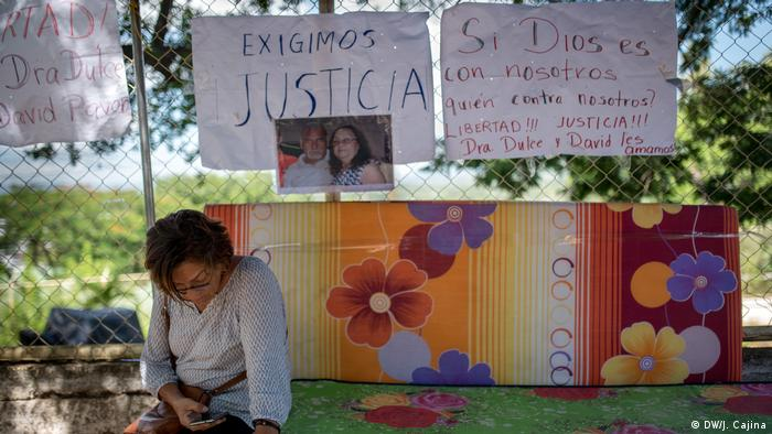 Family members camp outside El Chipote prison in Nicaragua, demanding information about their loved ones.