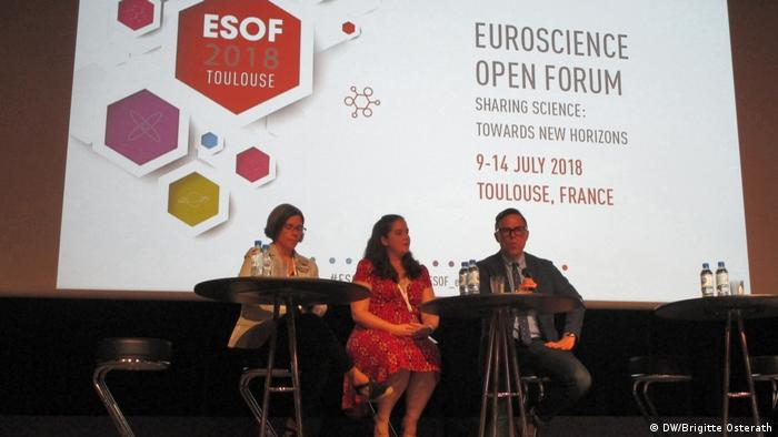 ESOF 2018 in Toulouse (DW/Brigitte Osterath)
